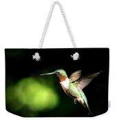 Img_0284-006 - Ruby-throated Hummingbird Weekender Tote Bag