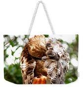 Img_1049-006 - Red-tailed Hawk Weekender Tote Bag