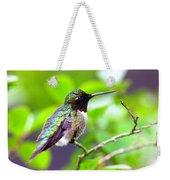Img_3524-002 - Ruby-throated Hummingbird Weekender Tote Bag