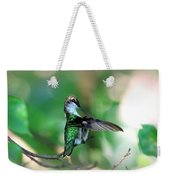 Img_4595-004 - Ruby-throated Hummingbird Weekender Tote Bag