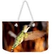 Img_4625 - Ruby-throated Hummingbird Weekender Tote Bag