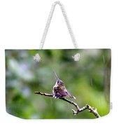 Img_5271-001 - Ruby-throated Hummingbird Weekender Tote Bag