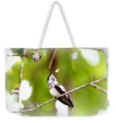 Img_7436-020 - Ruby-throated Hummingbird Weekender Tote Bag