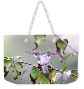 Img_9114-003 - Ruby-throated Hummingbird Weekender Tote Bag