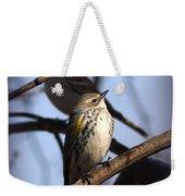 Img_9896 - Yellow-rumped Warbler Weekender Tote Bag