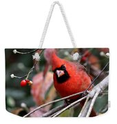 Img_9971-023 - Northern Cardinal Weekender Tote Bag