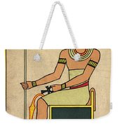 Imhotep, Egyptian Polymath Weekender Tote Bag
