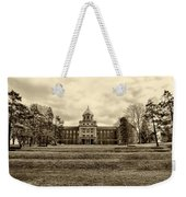 Immaculata University In Black And White Weekender Tote Bag
