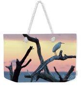 Immature Heron Glow Weekender Tote Bag