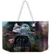 Impatient Painterly Floral Weekender Tote Bag