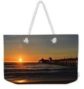 Imperial Beach Pier Weekender Tote Bag