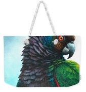 Imperial Parrot Weekender Tote Bag