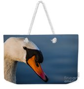 Imperial Swan Weekender Tote Bag