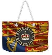 Imperial Tudor Crown Over Royal Standard Of The United Kingdom Weekender Tote Bag