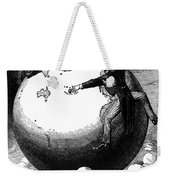 Imperialism Cartoon, 1876 - To License For Professional Use Visit Granger.com Weekender Tote Bag