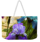 Impossible Irises Weekender Tote Bag
