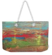 Impression Collection I Mountain Sunset Weekender Tote Bag