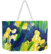 Impression Flowers Weekender Tote Bag