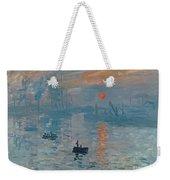 Impression Sunrise Weekender Tote Bag