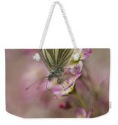 Impression With A Small Butterfly Weekender Tote Bag