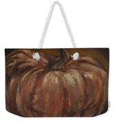 Impressionist Autumn Pumpkin Weekender Tote Bag
