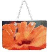 Impressionist Painting Of An Orange Mum Weekender Tote Bag