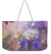 Impressionist Purple And White Irises 6647 Idp_2 Weekender Tote Bag