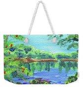 Impressionistic Landscape Xx Weekender Tote Bag