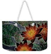 Impressionistic Lilies Weekender Tote Bag