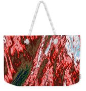 Impressions Of A Burning Forest 12 Weekender Tote Bag