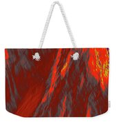 Impressions Of A Burning Forest 6 Weekender Tote Bag