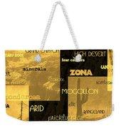 Impressions Of Arizona Se Weekender Tote Bag