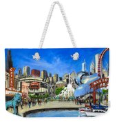 Impressions Of Chicago Weekender Tote Bag