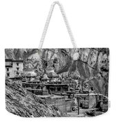 In A Far Land Bw Weekender Tote Bag