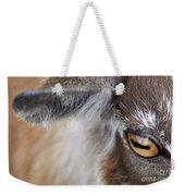 In A Goat's Eye Weekender Tote Bag