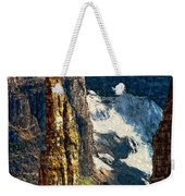 In A High Place Impasto Weekender Tote Bag