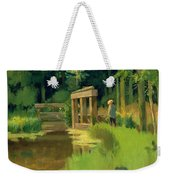 In A Park Weekender Tote Bag by Edouard Manet