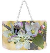 In Apple Blossom Time Weekender Tote Bag