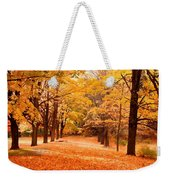 In Autumn Weekender Tote Bag