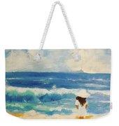 In Awe Of The Ocean Weekender Tote Bag