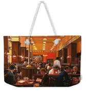 In Birreria Weekender Tote Bag by Guido Borelli