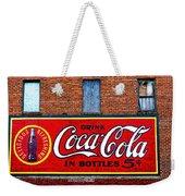 In Bottles Weekender Tote Bag