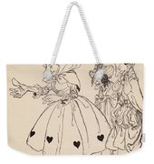 In Came The Three Women Dressed In The Weekender Tote Bag