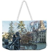 In Celebration Of Family Notre Dame 2 Weekender Tote Bag