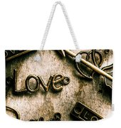 In Contrast Of Love And Light Weekender Tote Bag