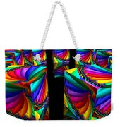 In Different Colors Thrown -3- Weekender Tote Bag by Issabild -