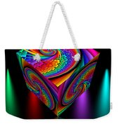 In Different Colors Thrown -4- Weekender Tote Bag by Issabild -
