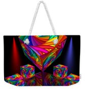 In Different Colors Thrown -8- Weekender Tote Bag