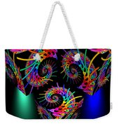 In Different Colors Thrown -9- Weekender Tote Bag