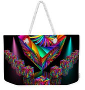 In Different Colours Thrown -6- Weekender Tote Bag